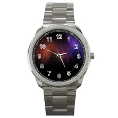 Point Light Luster Surface Sport Metal Watch