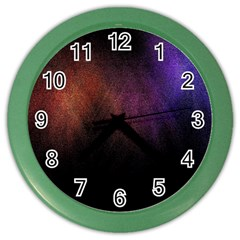 Point Light Luster Surface Color Wall Clocks