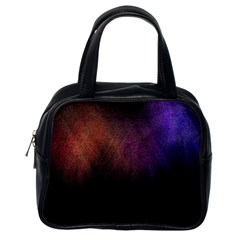 Point Light Luster Surface Classic Handbags (one Side)