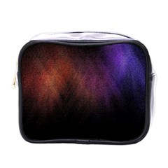 Point Light Luster Surface Mini Toiletries Bags