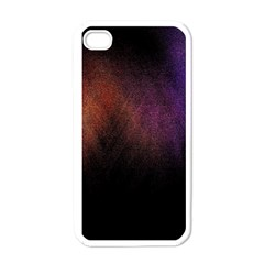 Point Light Luster Surface Apple iPhone 4 Case (White)