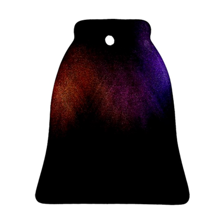 Point Light Luster Surface Bell Ornament (Two Sides)