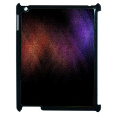 Point Light Luster Surface Apple iPad 2 Case (Black)