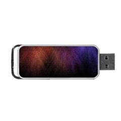 Point Light Luster Surface Portable USB Flash (Two Sides)