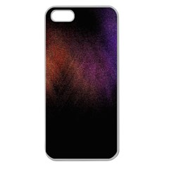 Point Light Luster Surface Apple Seamless iPhone 5 Case (Clear)