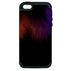 Point Light Luster Surface Apple iPhone 5 Hardshell Case (PC+Silicone)