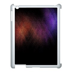 Point Light Luster Surface Apple iPad 3/4 Case (White)