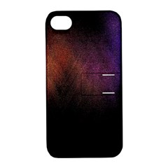 Point Light Luster Surface Apple Iphone 4/4s Hardshell Case With Stand