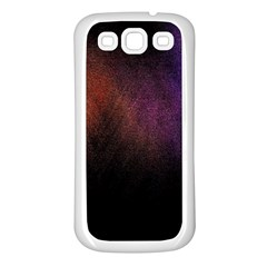Point Light Luster Surface Samsung Galaxy S3 Back Case (White)