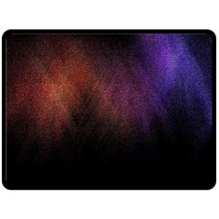 Point Light Luster Surface Double Sided Fleece Blanket (Large)