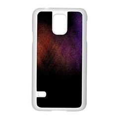 Point Light Luster Surface Samsung Galaxy S5 Case (White)