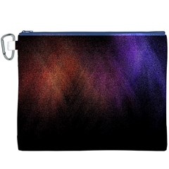 Point Light Luster Surface Canvas Cosmetic Bag (XXXL)