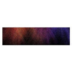Point Light Luster Surface Satin Scarf (Oblong)