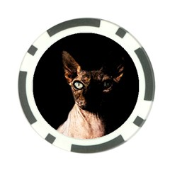 Sphynx cat Poker Chip Card Guard (10 pack)