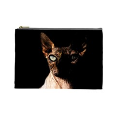 Sphynx cat Cosmetic Bag (Large)