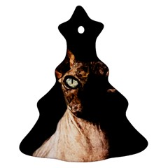 Sphynx cat Christmas Tree Ornament (Two Sides)