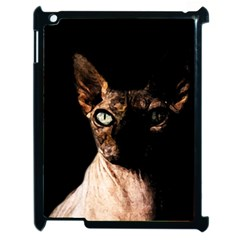 Sphynx cat Apple iPad 2 Case (Black)