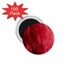 Red Background Texture 1 75  Magnets (100 Pack)