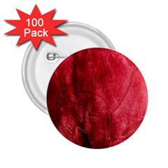 Red Background Texture 2.25  Buttons (100 pack)