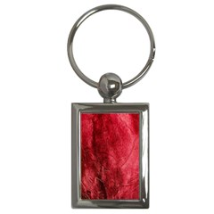 Red Background Texture Key Chains (Rectangle)