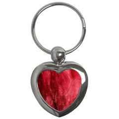 Red Background Texture Key Chains (Heart)