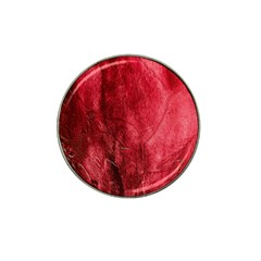 Red Background Texture Hat Clip Ball Marker