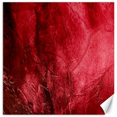 Red Background Texture Canvas 16  X 16