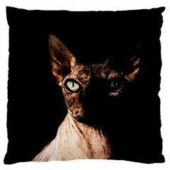 Sphynx cat Standard Flano Cushion Case (Two Sides)