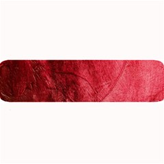 Red Background Texture Large Bar Mats