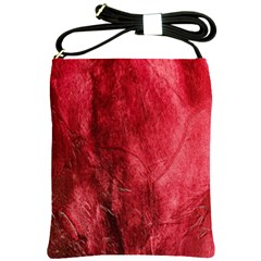 Red Background Texture Shoulder Sling Bags
