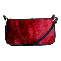 Red Background Texture Shoulder Clutch Bags