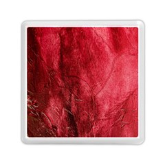 Red Background Texture Memory Card Reader (square)