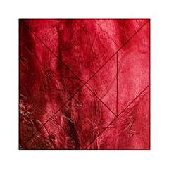 Red Background Texture Acrylic Tangram Puzzle (6  x 6 )