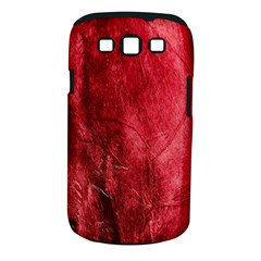 Red Background Texture Samsung Galaxy S III Classic Hardshell Case (PC+Silicone)