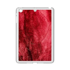 Red Background Texture iPad Mini 2 Enamel Coated Cases