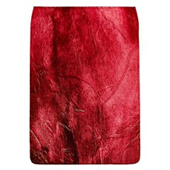 Red Background Texture Flap Covers (L)