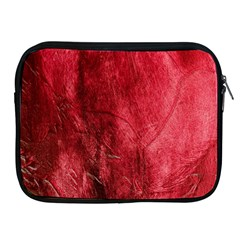 Red Background Texture Apple iPad 2/3/4 Zipper Cases