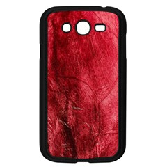 Red Background Texture Samsung Galaxy Grand DUOS I9082 Case (Black)
