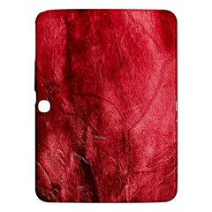 Red Background Texture Samsung Galaxy Tab 3 (10 1 ) P5200 Hardshell Case