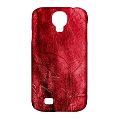Red Background Texture Samsung Galaxy S4 Classic Hardshell Case (PC+Silicone)
