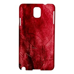 Red Background Texture Samsung Galaxy Note 3 N9005 Hardshell Case