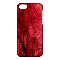 Red Background Texture Apple Iphone 5c Hardshell Case