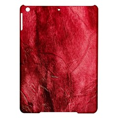 Red Background Texture iPad Air Hardshell Cases
