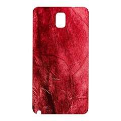 Red Background Texture Samsung Galaxy Note 3 N9005 Hardshell Back Case