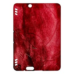 Red Background Texture Kindle Fire Hdx Hardshell Case
