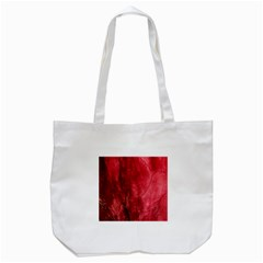 Red Background Texture Tote Bag (White)