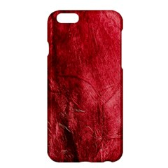 Red Background Texture Apple iPhone 6 Plus/6S Plus Hardshell Case