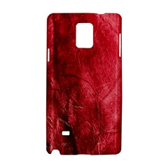 Red Background Texture Samsung Galaxy Note 4 Hardshell Case