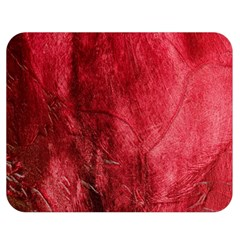 Red Background Texture Double Sided Flano Blanket (Medium)