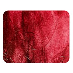 Red Background Texture Double Sided Flano Blanket (Large)